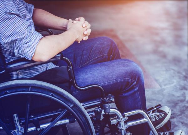 Bidden-rolstoel